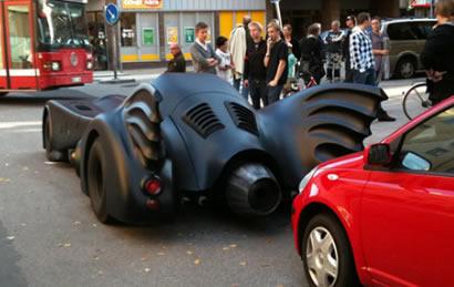 Batman'ın Arabası