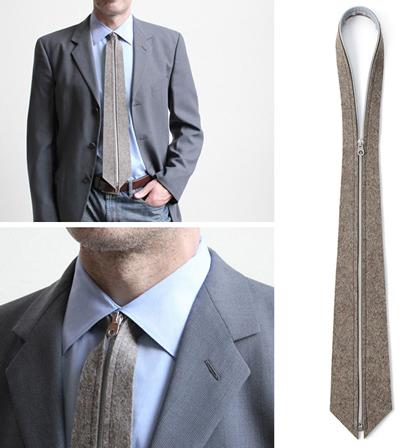 Fermuarlı Kravat