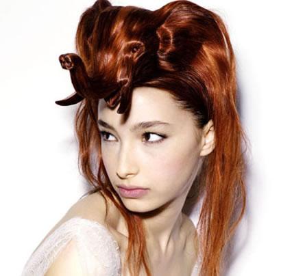 İlginç ve Değişik Saç Modelleri