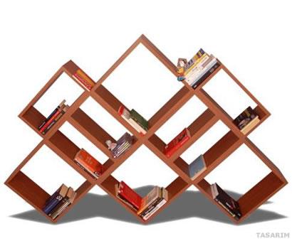 Pennon Kitaplık Vitrin Model-1