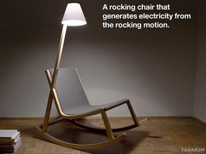 Olet Lambalı sandalye