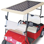 Solar Golf Arabası