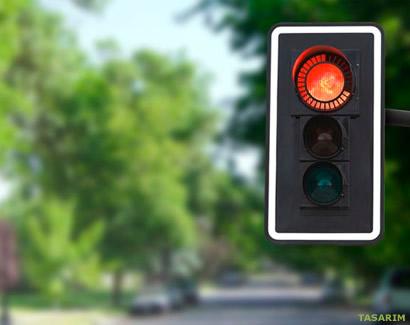 Geri Sayımlı Trafik Lambası